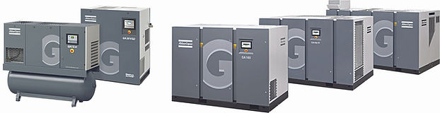 Oil Injected Screw Compressors - 2 KW to 500 KW