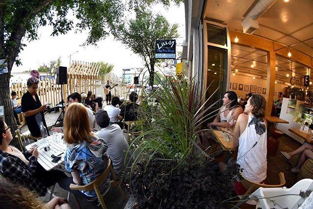 From last week. _evateresefoote _LIVE music every Sunday from 4-9p at the URB PRK