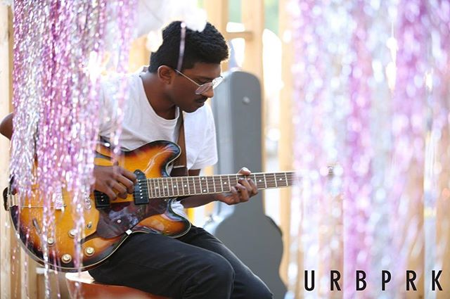 Last week's performance at the URB PRK! _pyramidindigo _ Music Curator_ _welcometothewest _ Stage Ar