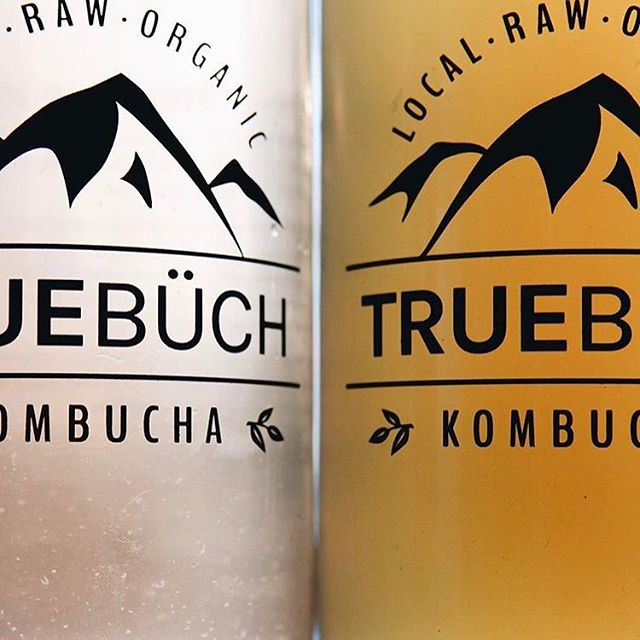 Really excited to be carrying _true_buch kombucha on tap_ 1) Ginger and 2) Mealshare flavour of the