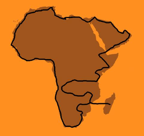 Africa Reconnaissance® map