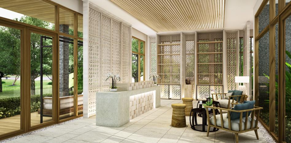 Resort Lobby design