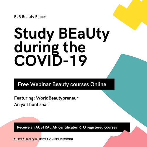 Beauty and PLR short courses