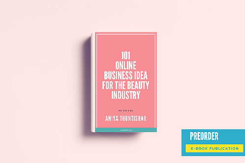 BOOK: 101 online business idea for the beauty industry