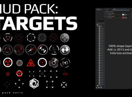 VIDEOHIVE HUD PACK - TARGETS