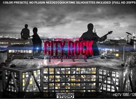 VIDEOHIVE CITY ROCK