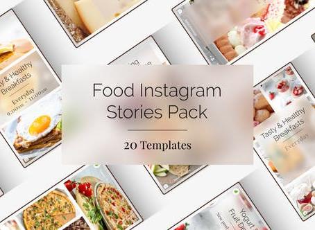 VIDEOHIVE FOOD INSTAGRAM STORIES