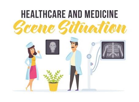 VIDEOHIVE HEALTHCARE AND MEDICINE - SCENE SITUATION