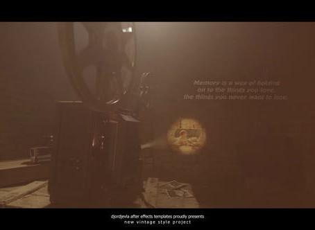 VIDEOHIVE VINTAGE MEMORIES - FILM PROJECTOR 2