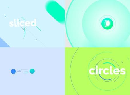 VIDEOHIVE CIRCLE SLICE LOGO REVEAL