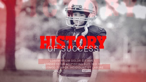 VIDEOHIVE HISTORY OF SUCCESS - MOTIVATION PROMO