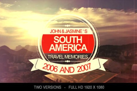 VIDEOHIVE TRAVEL MEMORIES 5456381