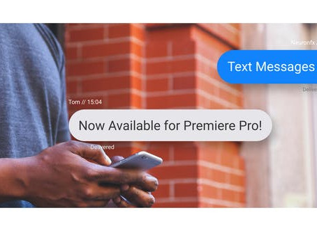 VIDEOHIVE TEXT MESSAGES TOOLKIT - PREMIERE PRO