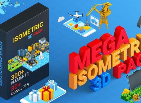 VIDEOHIVE ISOMETRIC MEGA PACK