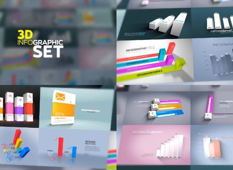 VIDEOHIVE 3D INFOGRAPHICS SET