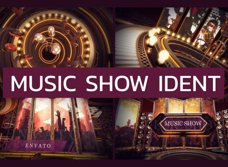 VIDEOHIVE MUSIC SHOW IDENT