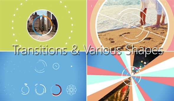 VIDEOHIVE TRANSITIONS & VARIOUS SHAPES
