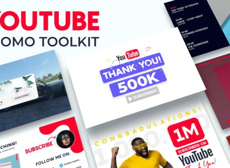 VIDEOHIVE YOUTUBE PROMO TOOLKIT