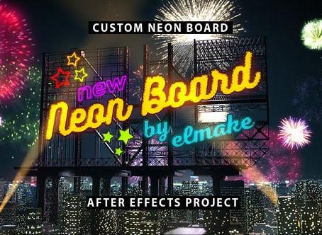 VIDEOHIVE NEON BOARD