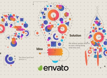 VIDEOHIVE CHALLENGE AND SOLUTION LOGO