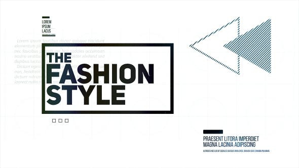 VIDEOHIVE THE FASHION STYLE