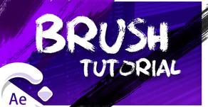 Crear ANIMACIONES con el efecto BRUSH | en After Effects