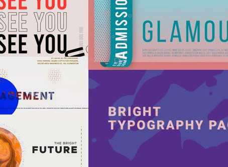 VIDEOHIVE BRIGHT TYPOGRAPHY PACK