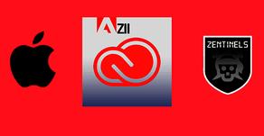 Errores de instalación en MAC de Adobe y el Zii