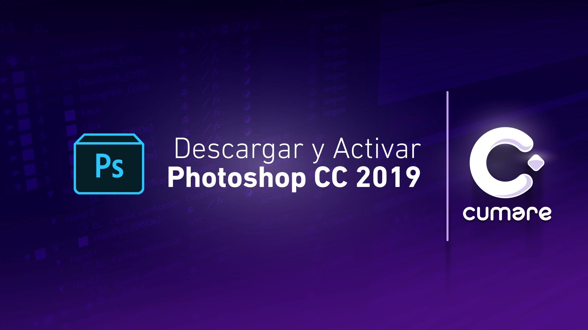 descargar e instalar adobe photoshop cc 2019 gratis