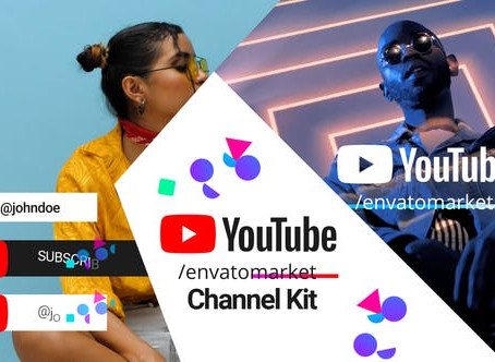 VIDEOHIVE YOUTUBE CHANNEL KIT