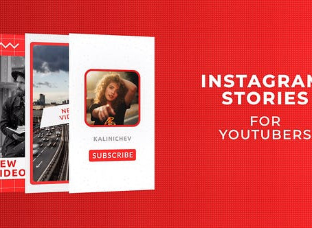 VIDEOHIVE INSTAGRAM STORIES FOR YOUTUBERS - PREMIERE PRO 28095962