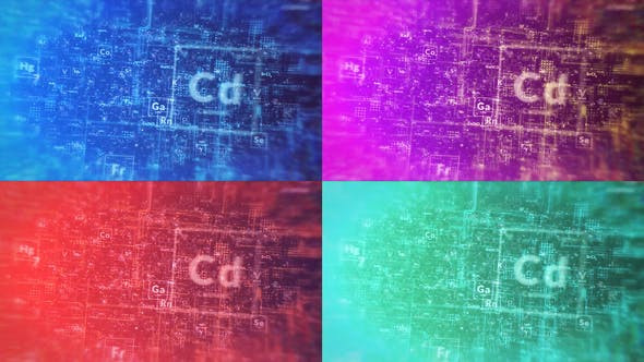VIDEOHIVE CHEMICAL DIGITAL LOGO REVEAL
