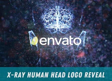 VIDEOHIVE X-RAY HUMAN HEAD LOGO REVEAL