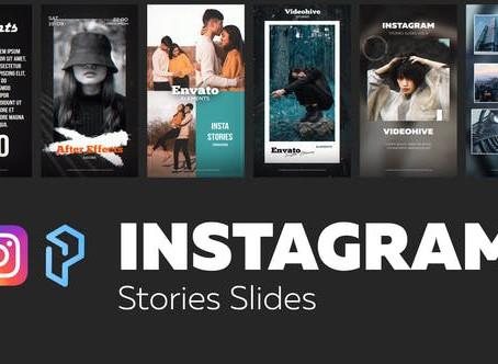 VIDEOHIVE INSTAGRAM STORIES SLIDES VOL. 9