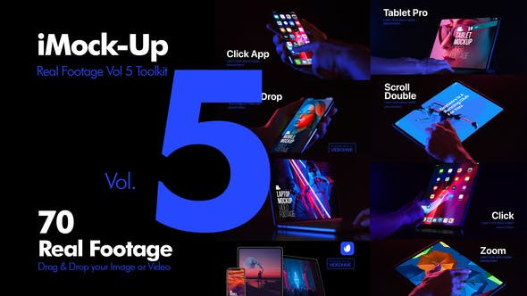 VIDEOHIVE IMOCK-UP REAL FOOTAGE VOL 5 TOOLKIT