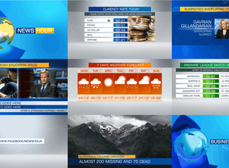 VIDEOHIVE COMPLETE NEWS PACKAGE