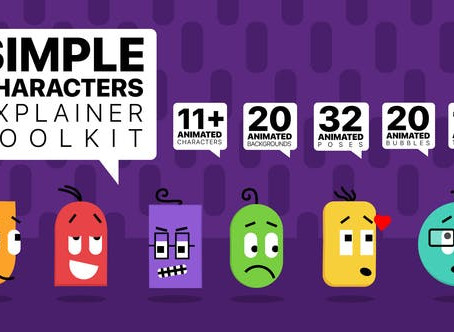 VIDEOHIVE SIMPLE CHARACTERS EXPLAINER TOOLKIT