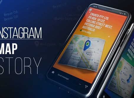 VIDEOHIVE INSTAGRAM MAP STORY