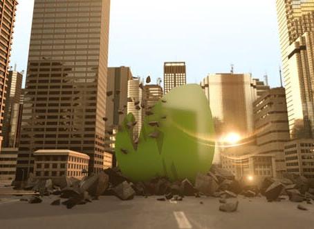 VIDEOHIVE MASSIVE CITY LOGO