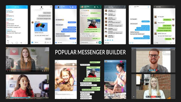 VIDEOHIVE POPULAR MESSENGER BUILDER V3.0