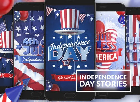 VIDEOHIVE 4TH OF JULY INSTAGRAM STORIES