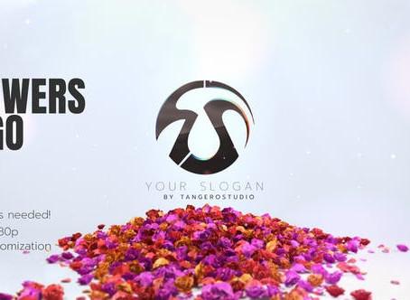 VIDEOHIVE FLOWERS LOGO V3