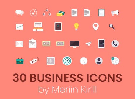 VIDEOHIVE 30 ANIMATED BUSINESS ICONS
