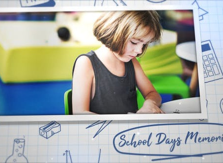 VIDEOHIVE SCHOOL DAYS MEMORIES