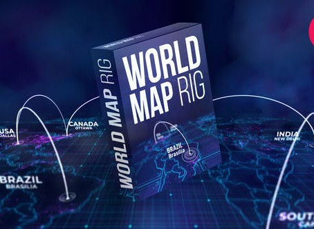 VIDEOHIVE WORLD MAP RIG