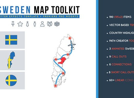 VIDEOHIVE SWEDEN MAP TOOLKIT