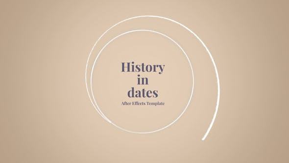 VIDEOHIVE HISTORY IN DATES - HISTORY MEMORY