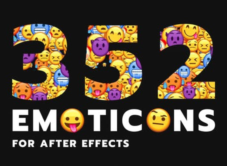 VIDEOHIVE EMOTICON - ANIMATED EMOJIS PACK