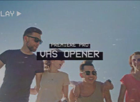 VIDEOHIVE VHS OPENER - PREMIERE PRO 27955580