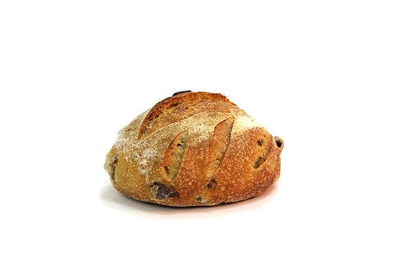 לחם מחמצת זיתי קלמטה